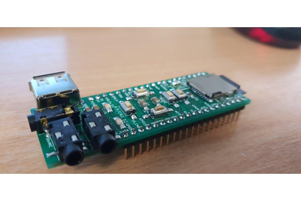 Assembled advanced breadboard adapter for BK3245 2