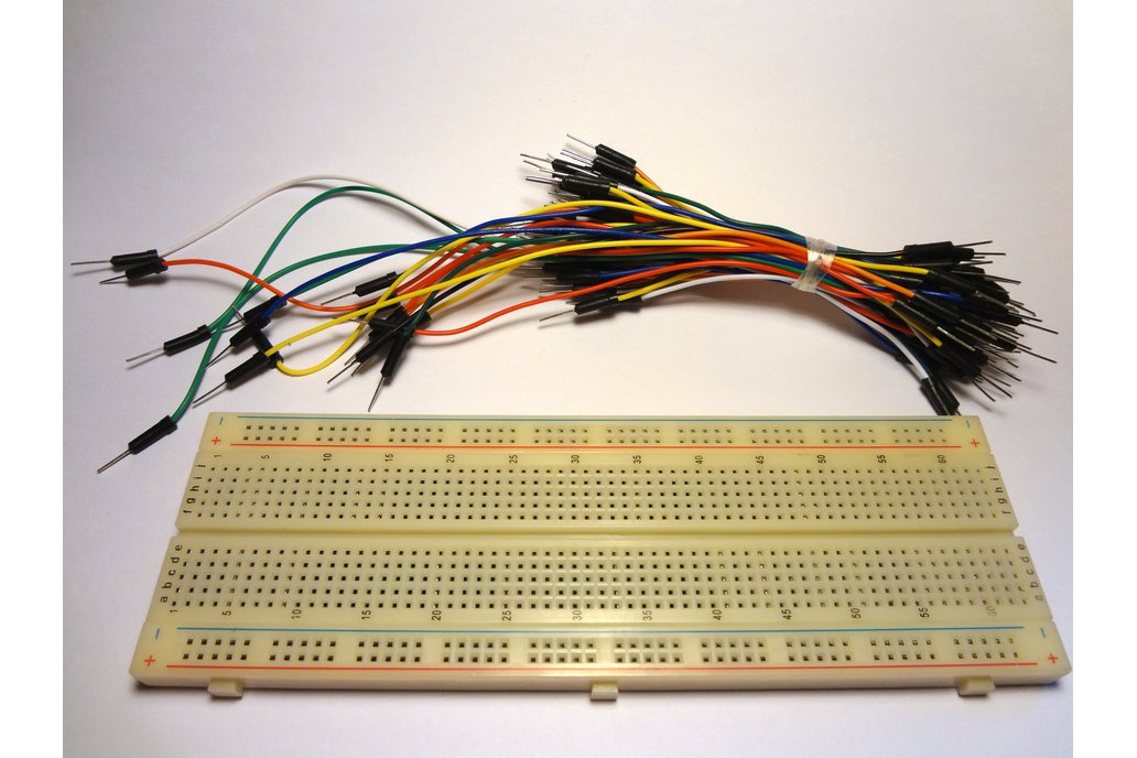 Breadboard and Jumper Wires 1