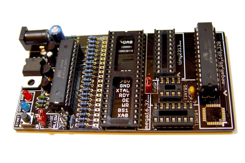 Bare PCB AVR fuse bit doctor HVPP  HVSP fix repair 3
