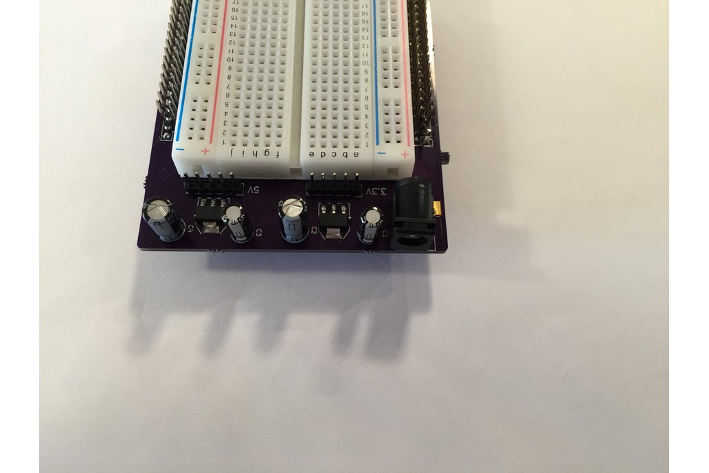 STM32 Nucleo Morpho Expansion Breadboard 2