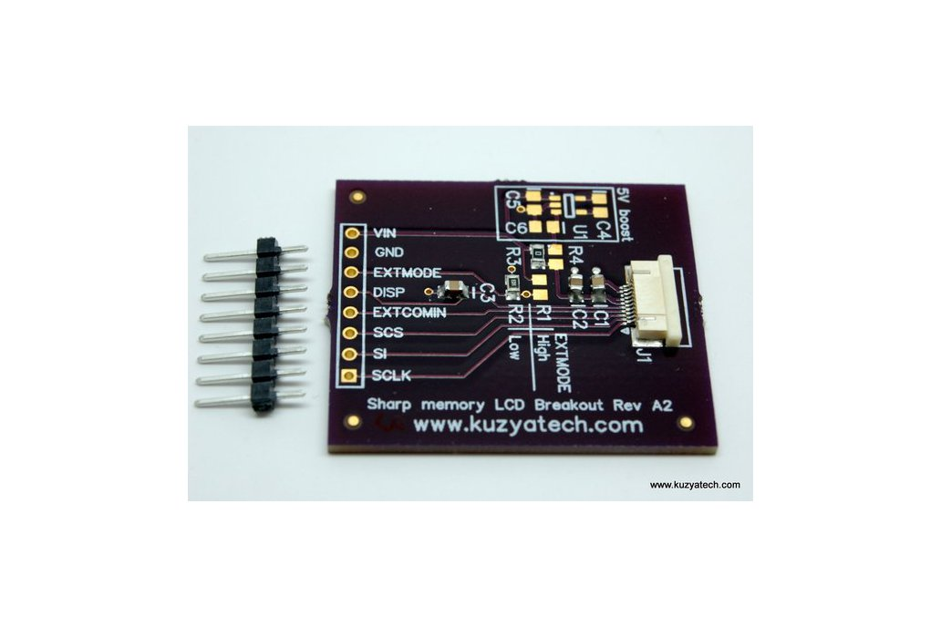 Sharp Memory LCD breakout A2 2