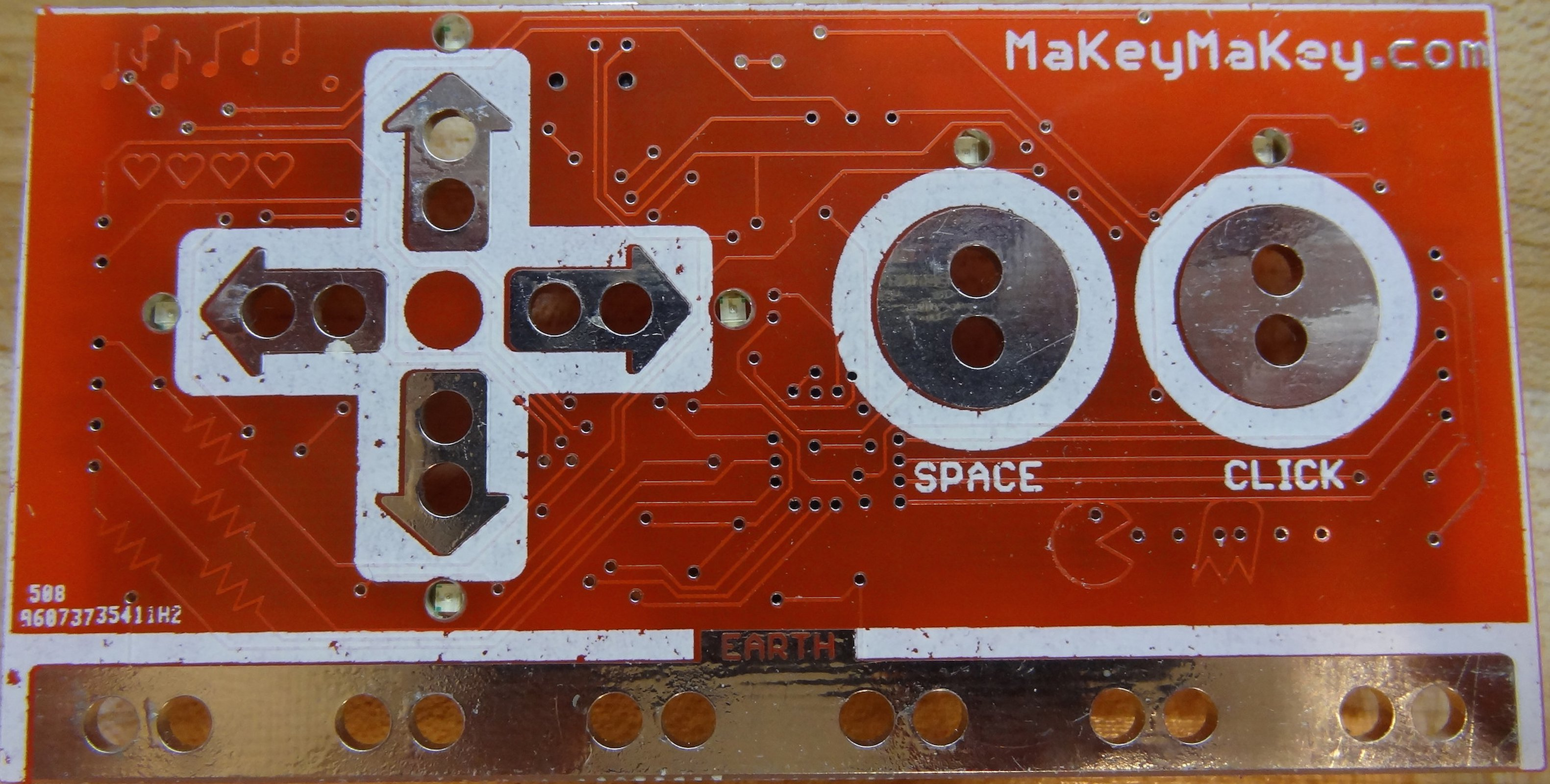 Makeymakey Pcb Only From Tomkeddie On Tindie Circuit Board Maker Buy Printed Makerpcb 1