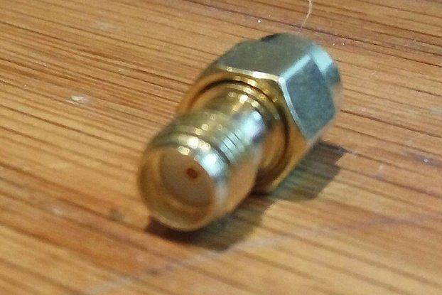 RP-SMA to SMA Adapter Socket
