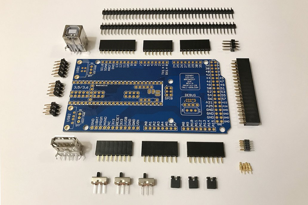 Teensy 3.5/3.6 Breakout (Revision A, Due) 1