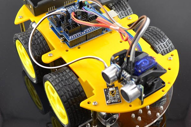 Bluetooth Controlled Robot Car Kit