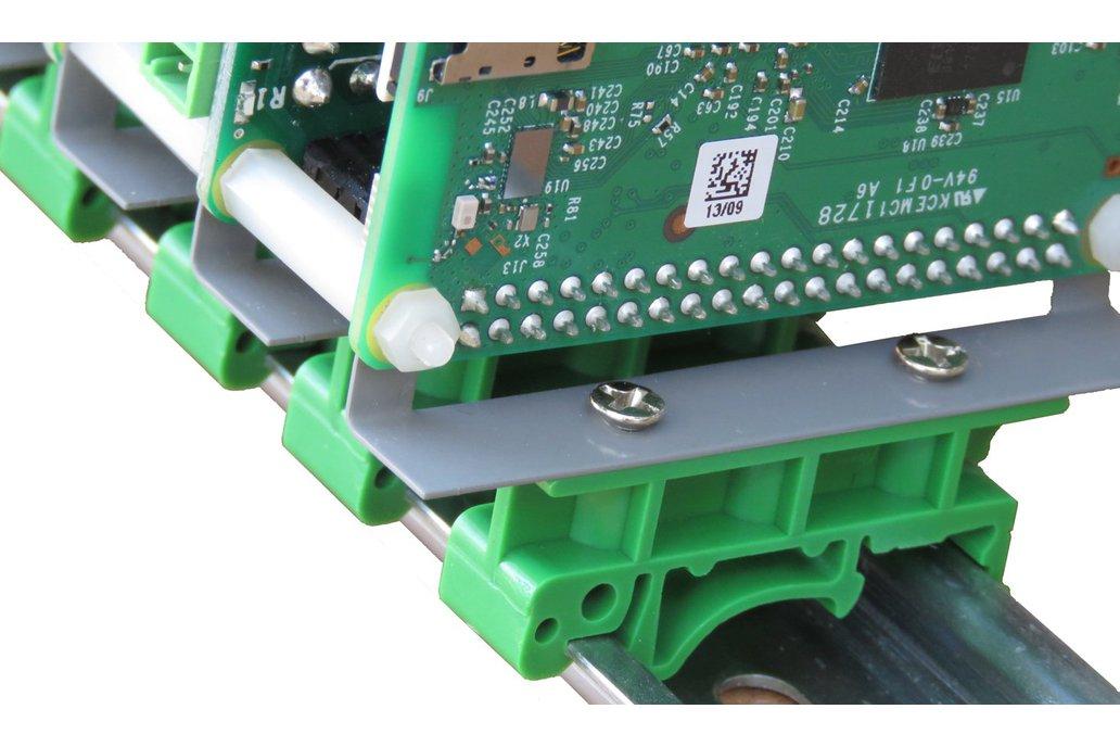 Stackable DIN-Rail Kit for Raspberry Pi 1