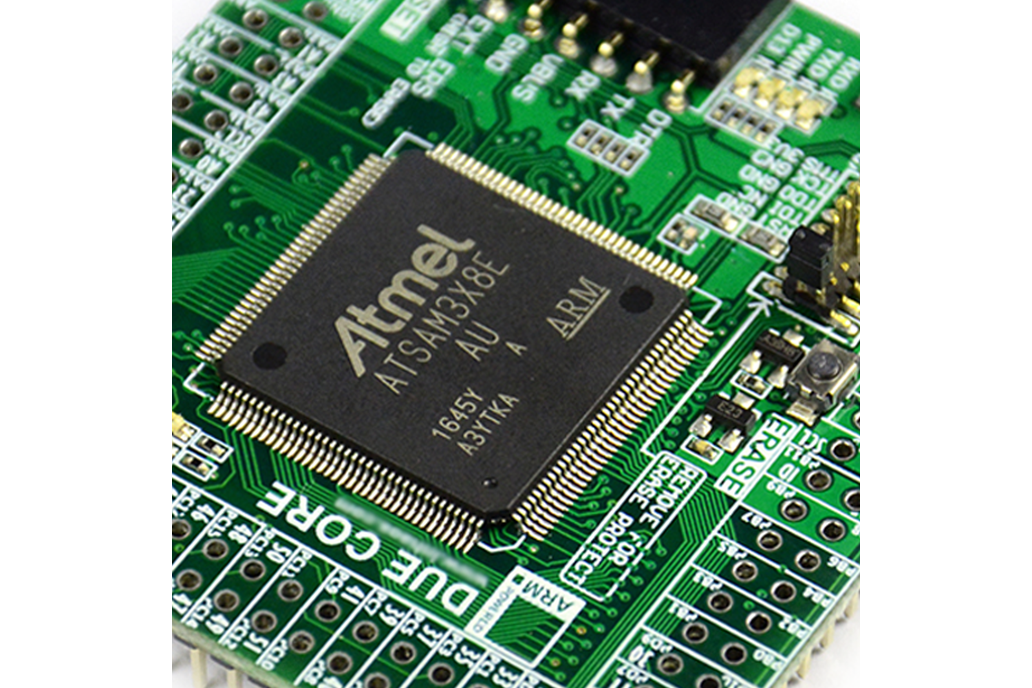 Arduino Compatible DUE-Core SAM3X8E Board 2