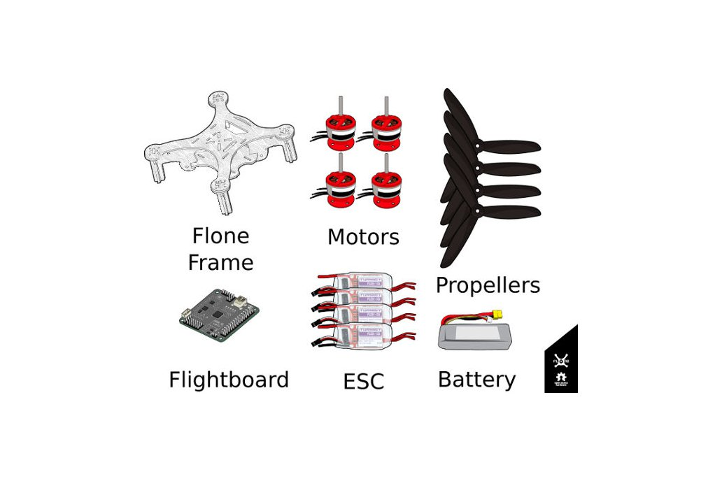 Flone  3.0  Drone Starting Kit 2