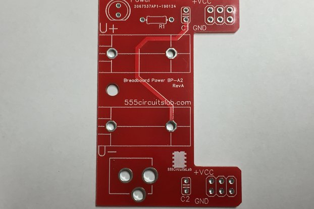 Breadboard Power Adapter - PCB