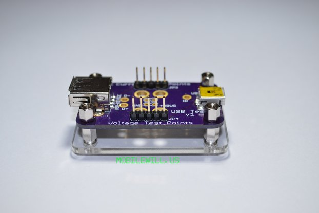 Acrylic Base for USB Tester