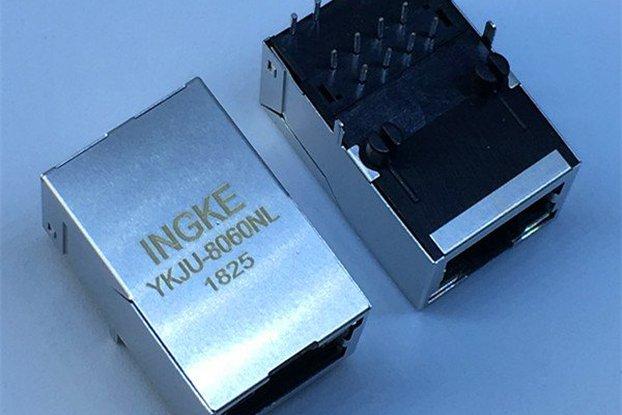J1011F01PNL YKJU-8060NL Magnetic RJ45 Connectors