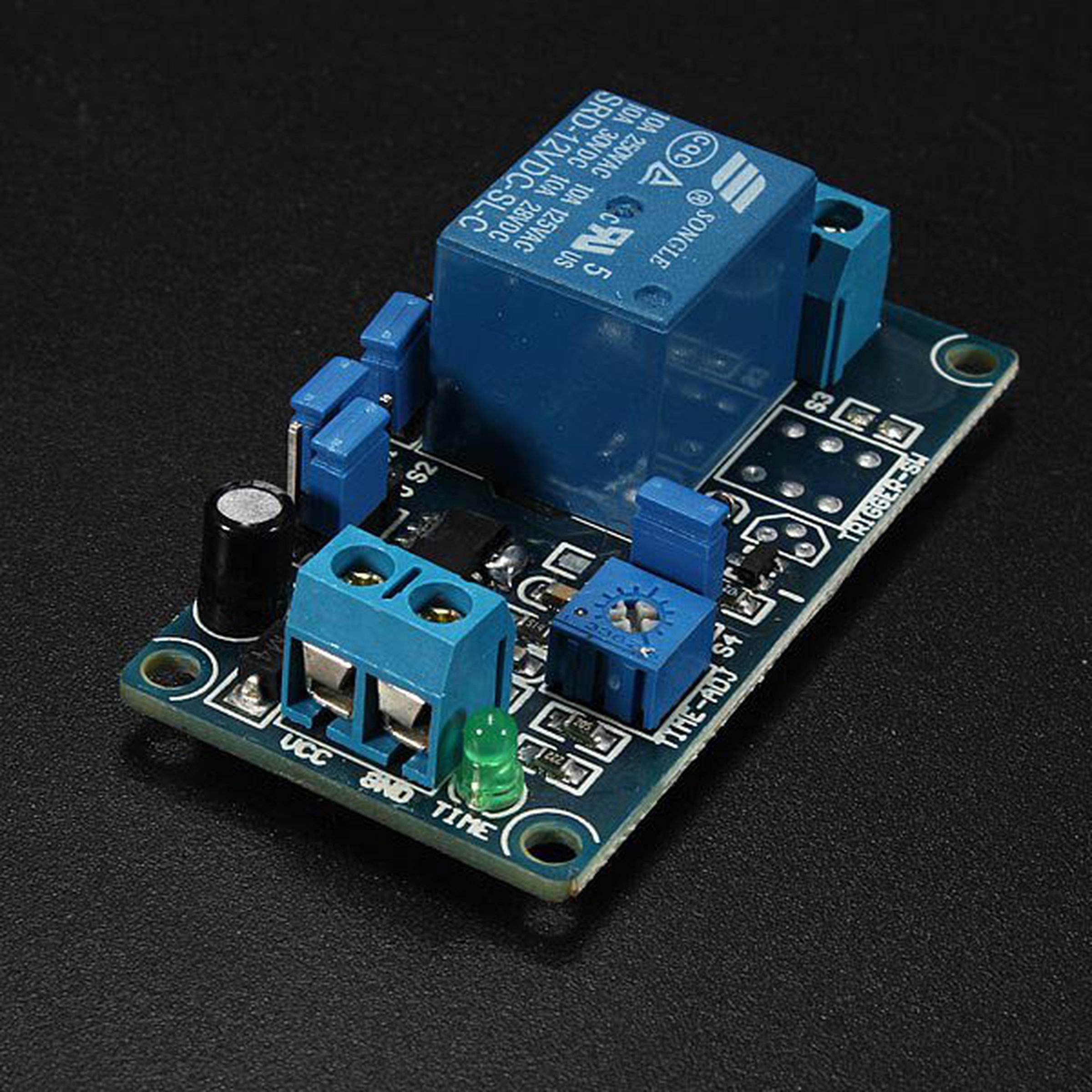 12v Power On Delay Relay Circuit From Mmm999 Tindie 1