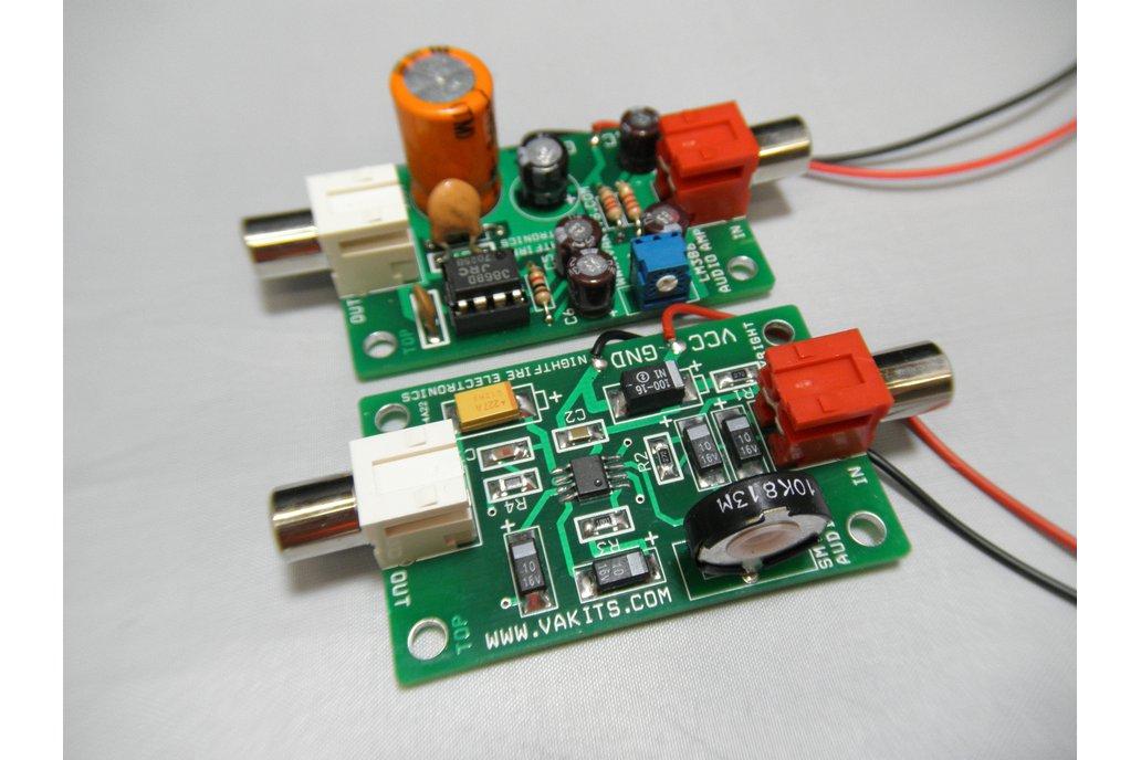 LM 386 Audio Amp Thru-Hole & SMT Kits (#1705) 1