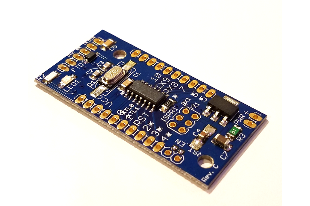 ATtiny841 dev. board w/Optiboot (assembled) 1