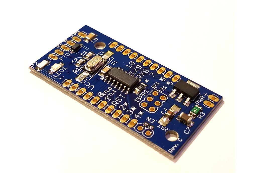 ATtiny841 dev. board w/Optiboot (assembled) 1