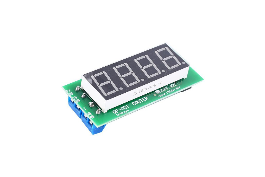 4Bit Red Digital Display Trigger Counter (15147) 1