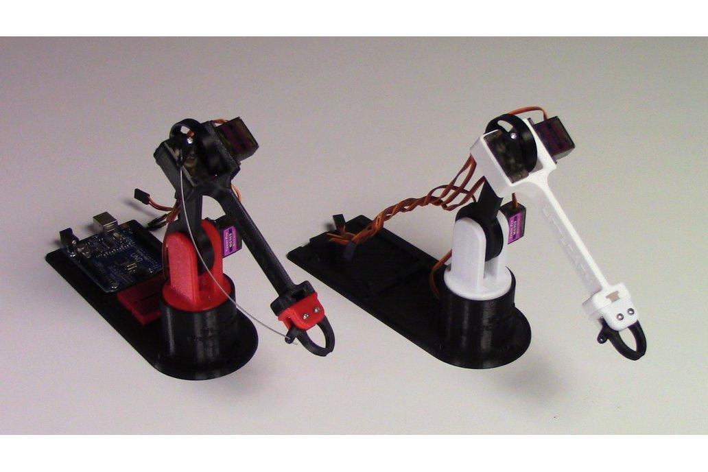 LittleArm: 3D Printed Arduino Robot Arm Kit  1