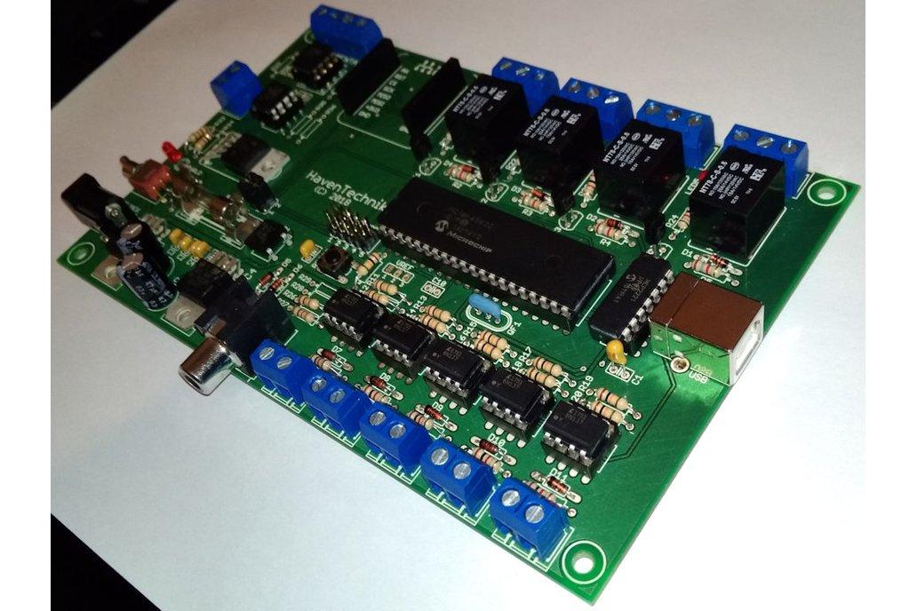 FACTOR - Instrumentation I/O PCB 3