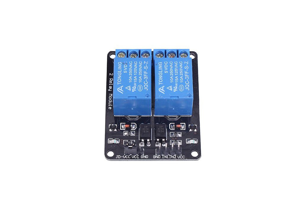 5v 2 Channel Relay Module For Arduino 1647 From Icstation
