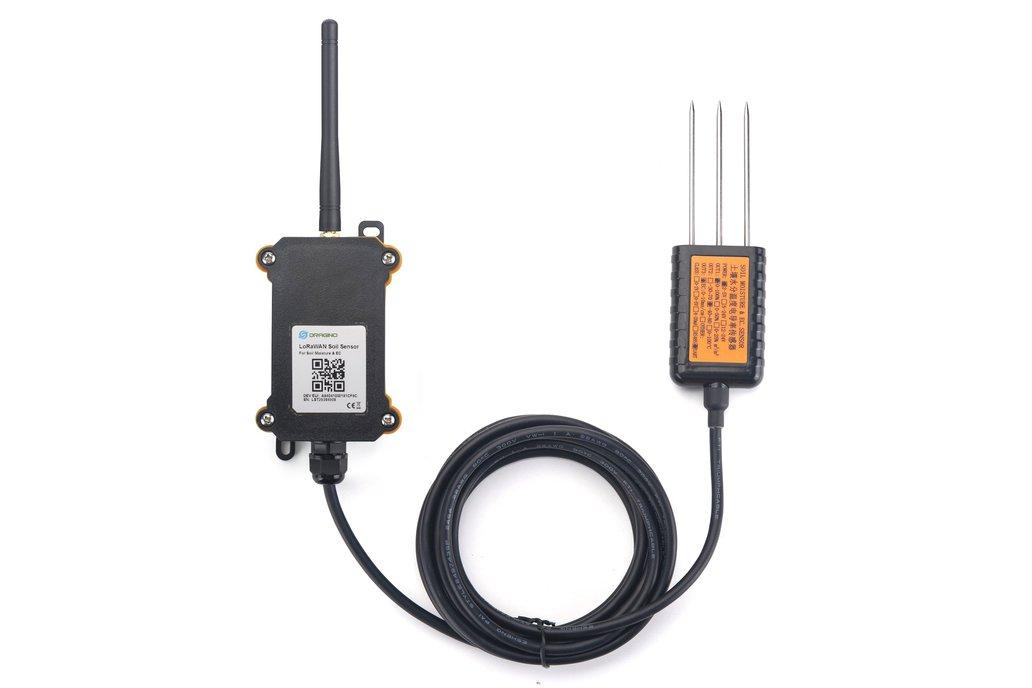 LSE01 LoRaWAN Soil Moisture & EC Sensor 1