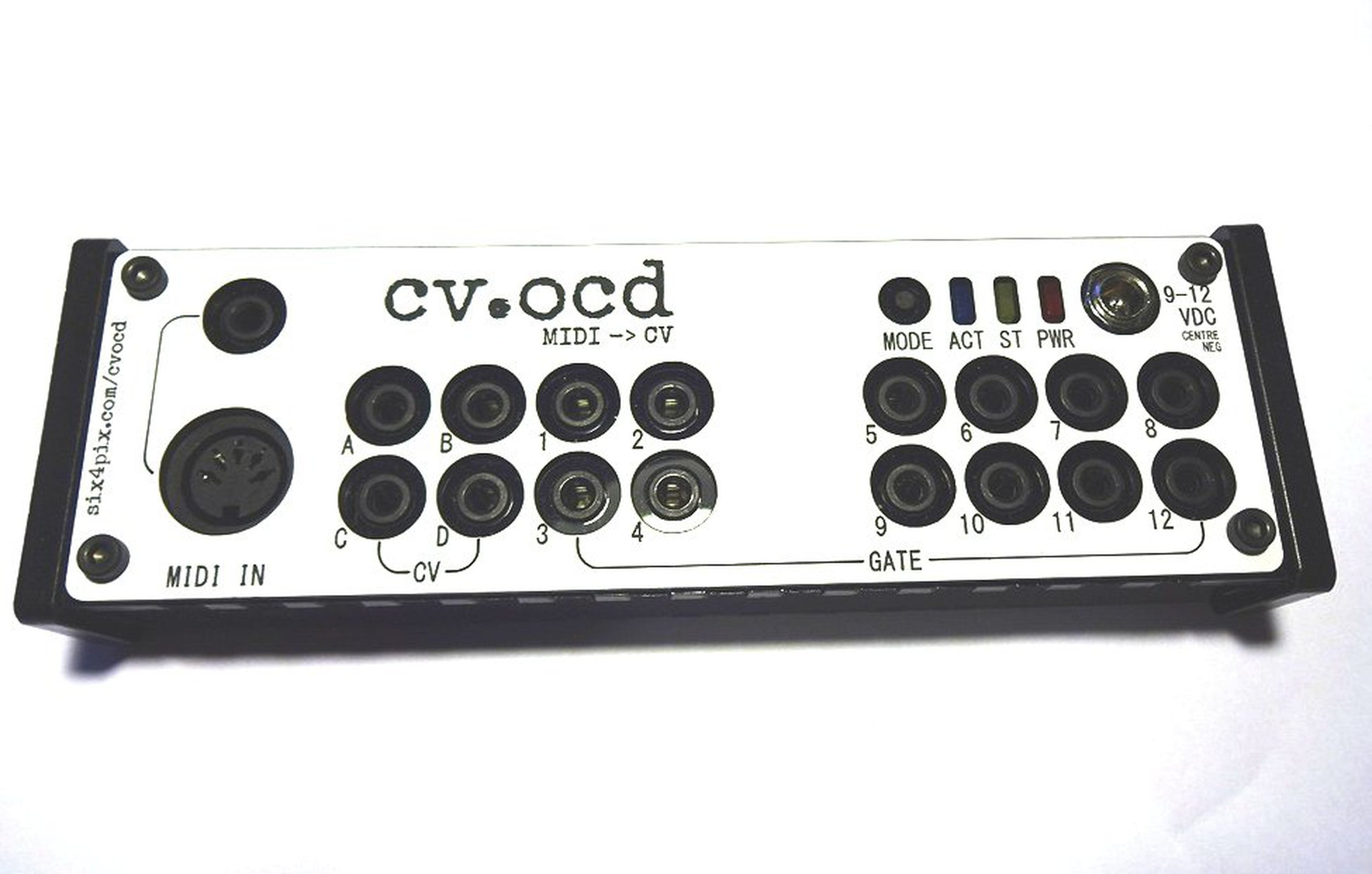 CV OCD A Super Flexible MIDI To CV Box From Sixty Four On
