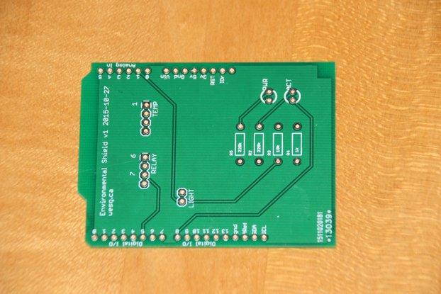 IoT temperature and humidity Arduino shield