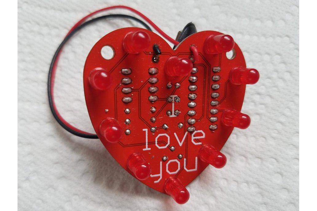 Heart-Shaped LED Chaser 1