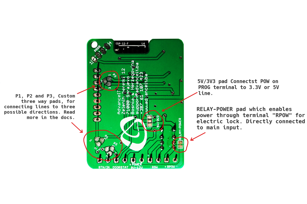 ESP-RFID Relay Board (12V for ESP8266 Board) 5