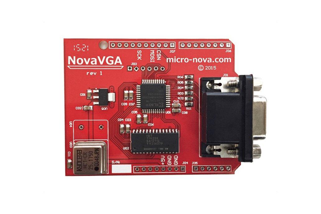 NovaVGA - Arduino graphics shield 1