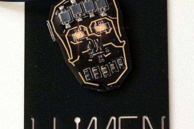 Advanced SM Skull LED + Solar Power Soldering Kit