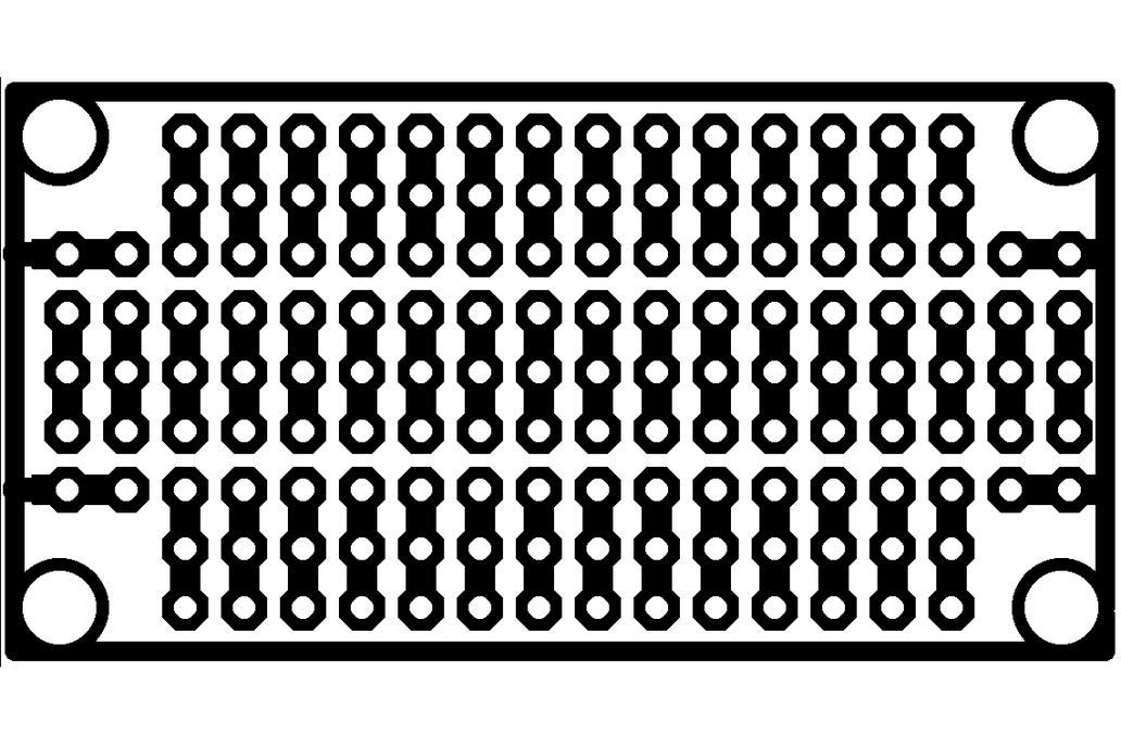 "1""x2"" prototyping board 2"