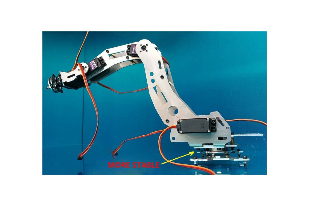 6 DoF Industrial Robot Arm Model 3
