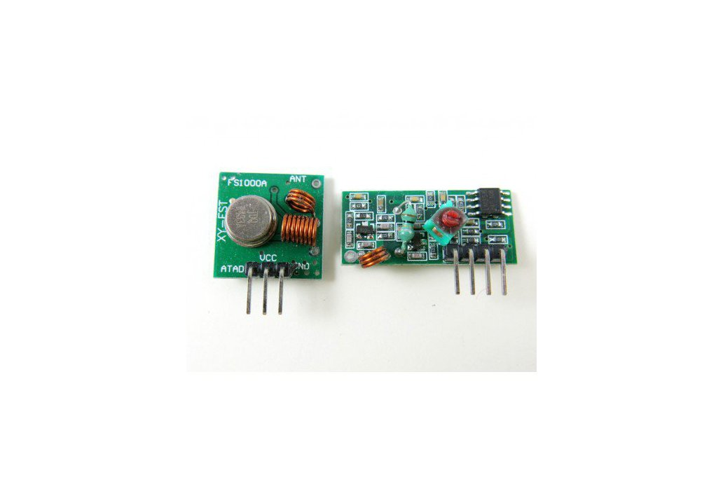 RF Transmitter + Receiver Pair 1
