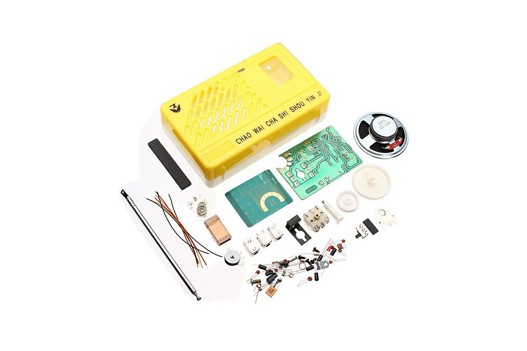 AM FM Radio Electronics Kit 1