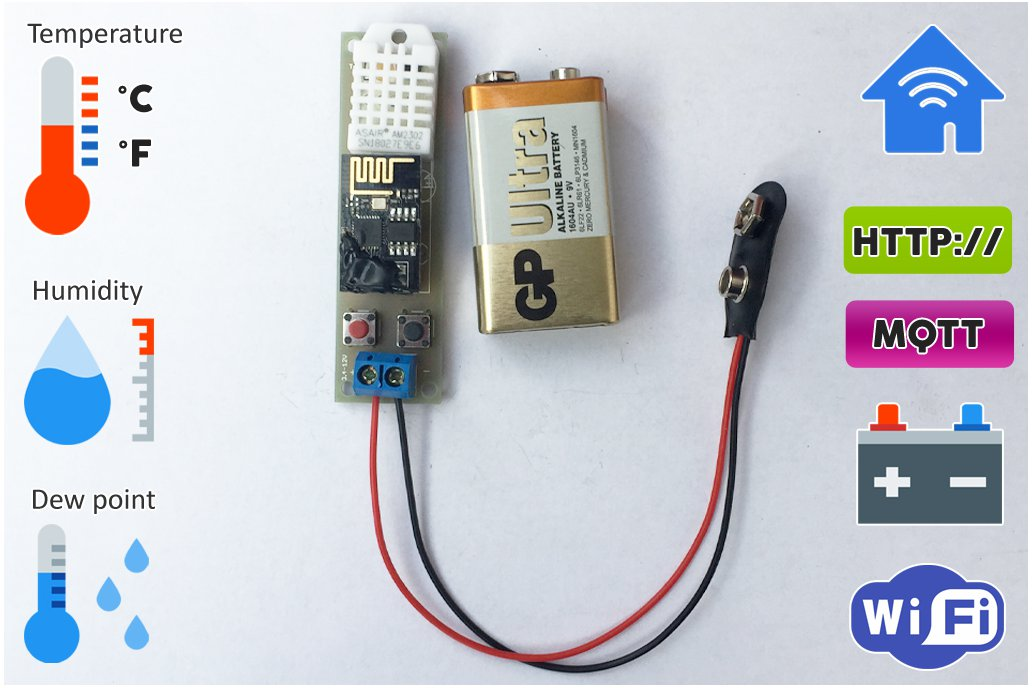 Low Power Temperature and Humidity WiFi tracker s1 3