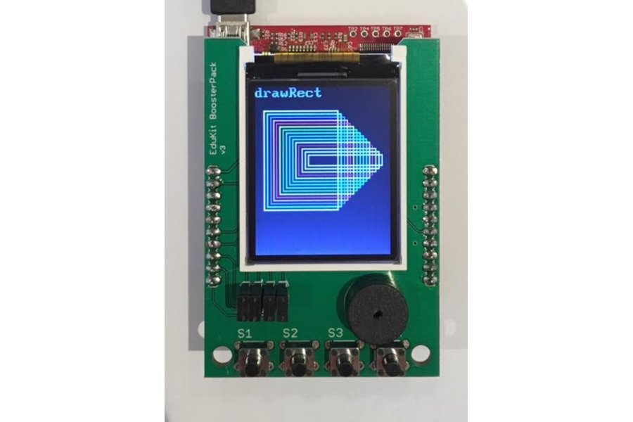 "1.8"" Color LCD Educational BoosterPack"