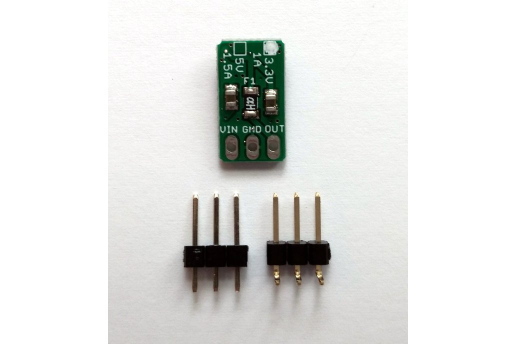 3.3v/1A 3-pin Linear Voltage Regulator w/polyfuse 1