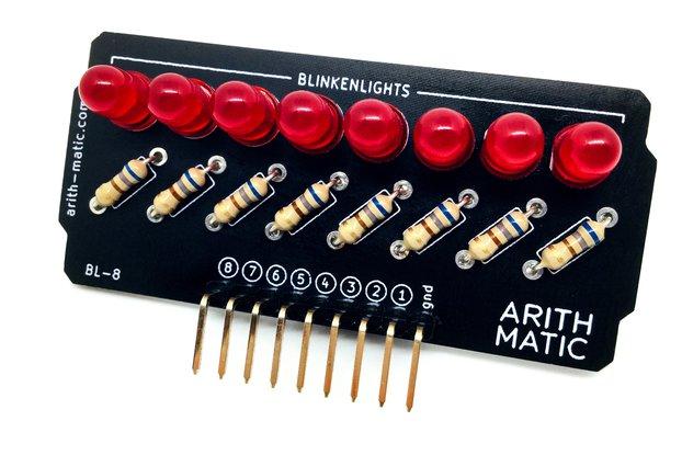 BL-8: 8-bit Blinkenlights Kit