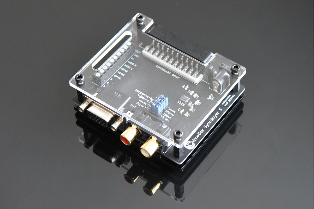 SyncSlayer II - SCART to VGA Adapter 1