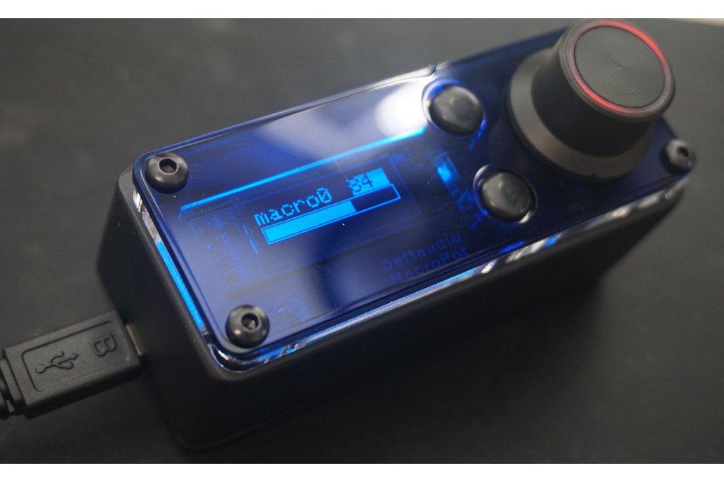 MacroPot deeply programmable MIDI controller Kit 1