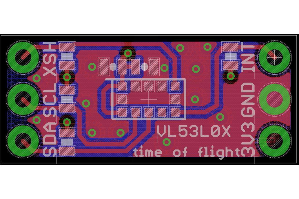 VL53L0X Time-of-Flight Ranging Sensor 5