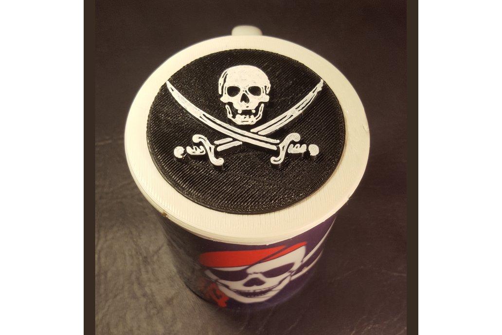 Cup/Mug - 12oz with 3D printed cap 4