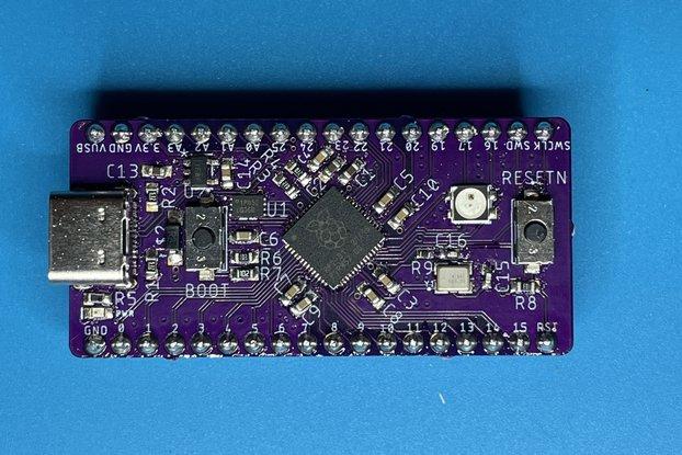 BREAD 2040 - A Breadboard Loving RP2040 Dev Board