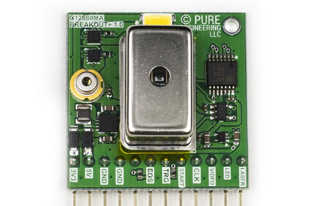 C12880MA MEMS u-Spectrometer and Breakout Board