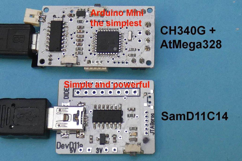 Sam D11 development kit