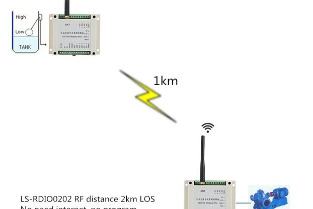 Wireless ON-OFF module Pump wireless controller