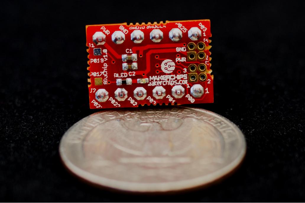 BluChip Plus - Tiny Bluetooth 5.0 Developer Board 1