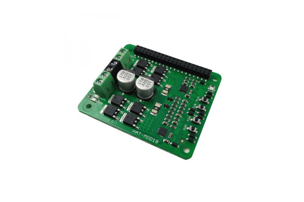 2x10A Motor Driver HAT For Rasberry PI 1
