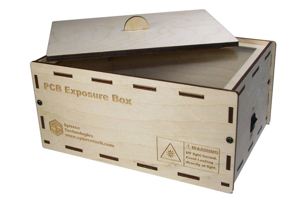 """PCB UV Exposure Box, 6"""" x 4"""" 7"""