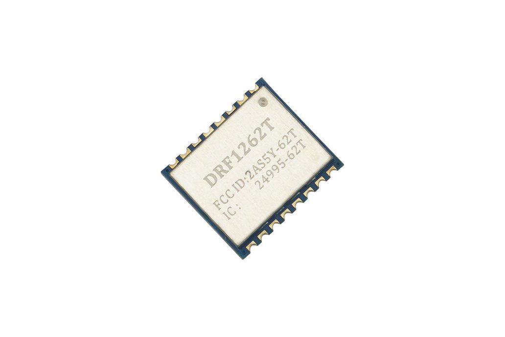 868MHz 915MHz sx1262 TCXO module DRF1262T FCC IC 1